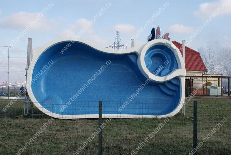 Купить композитный бассейн в БассейнМонтажСервис