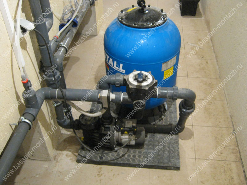 Система фильтрации бассейна