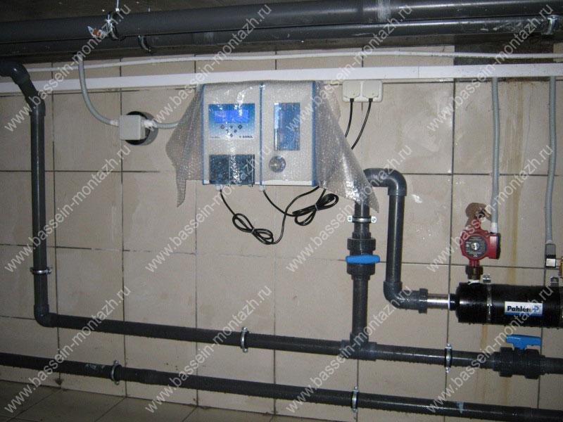 Оборудование для подогрева бассейна