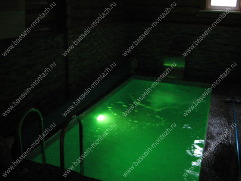 Подсветка бассейна светодиодная